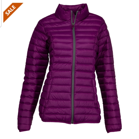 Natural Reflections Jackets & Blazers - Natural Reflections purple puffer sz large Cabelas